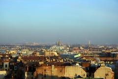 центра города взгляд святой petersburg вниз стоковая фотография