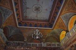 Центральная зала - австрийские имперские ванны - Herculane Стоковая Фотография
