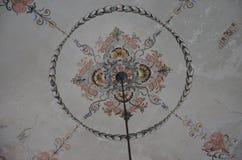 Центральная зала - австрийские имперские ванны - Herculane Стоковые Фото