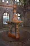 Центральная зала - австрийские имперские ванны - Herculane Стоковые Изображения