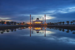 Центральная мечеть Songkhla стоковая фотография rf