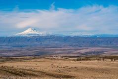 Центральная перспектива фермы Орегона Стоковые Фото