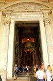 Центральная портальная базилика Ватикан ` s St Peter Стоковое Фото