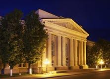 Центральная площадь в Maladzyechna Беларусь стоковые фото