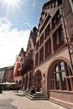 Центральная площадь Франкфурта Стоковые Изображения RF
