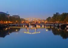 Центральная станция Амстердама Стоковое Изображение RF