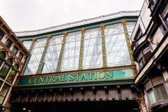 Центральная станция Глазго, Шотландии, Великобритании Стоковые Фото