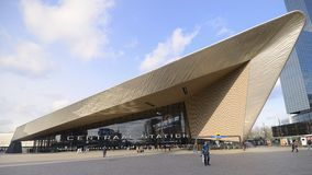 Центральная станция Роттердам стоковое изображение rf