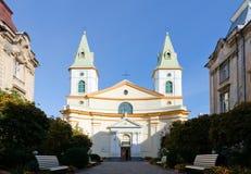 Центральная церковь евангелистских баптистов христиан Стоковая Фотография RF