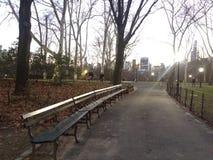 центральная часть в Нью-Йорке стоковое изображение