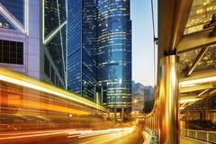 центральное Hong Kong стоковые фотографии rf