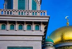 Центральное moscue собора в Москве Россия Стоковое Изображение RF