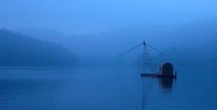 центральные восхитительные горы луны озера устанавливают солнце taiwan остальных релаксации поистине Стоковые Фотографии RF