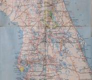 Центральные 1950's Флориды Стоковое Изображение