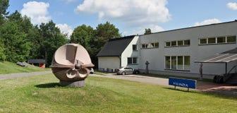 Центральный вход в парк каменных скульптур Стоковые Изображения