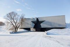 Центральный вход к крепости Бреста Стоковая Фотография
