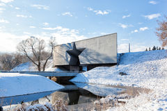Центральный вход к крепости Бреста Стоковые Изображения RF