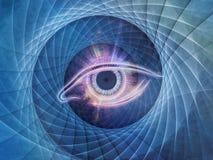 Центральный глаз Стоковые Изображения