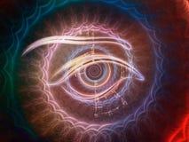 Центральный глаз Стоковое фото RF