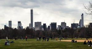 центральный новый парк york Стоковая Фотография