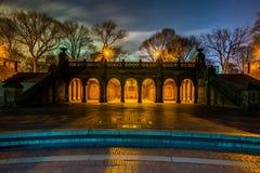 центральный парк ночи Стоковое Изображение RF