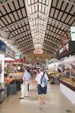 Центральный рынок, Валенсия, Испания Стоковые Фото