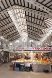 Центральный рынок, Валенсия, Испания Стоковое Изображение RF