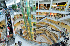 Центральный торговый центр мира, Бангкок Стоковое Изображение RF
