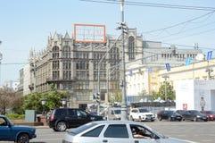 Центральный универмаг в жаре Москвы стоковые фото
