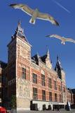 Централь Амстердама Стоковая Фотография RF