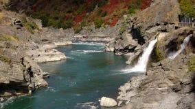 Централь Otago реки Kawerau стоковое изображение rf