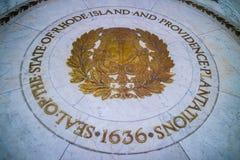 Центр администрации в Провиденс, Род-Айленда стоковое фото rf