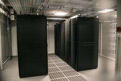 Центр данных для данных по хранения и обрабатывать стоковая фотография