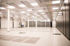 Центр данных для данных по хранения и обрабатывать стоковое изображение rf