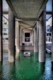 Центр барбакана в Лондоне стоковое фото