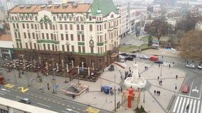 Центр Белграда стоковое изображение rf