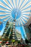 Центр Берлин Сони Стоковое Изображение RF