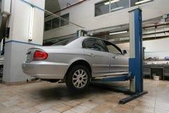 центр внимательности автомобиля Стоковое фото RF