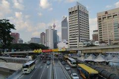 Центр города Куалаа-Лумпур - центральная область рынка стоковое фото
