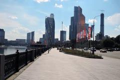 Центр города Москвы Examle современной архитектуры Москвы Стоковые Фотографии RF