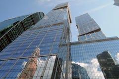 Центр города Москвы Examle современной архитектуры Москвы Стоковые Изображения