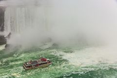 Центр города Ниагарского Водопада, Онтарио, Канада стоковое фото