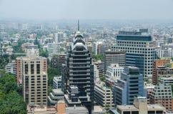 Центр города Сантьяго - Чили Стоковые Фотографии RF