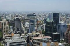 Центр города Сантьяго - Чили Стоковое Изображение RF