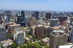Центр города Сантьяго - Чили Стоковое Изображение