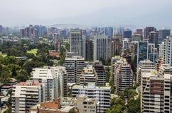 Центр города Сантьяго - Чили Стоковые Изображения RF