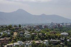 Центр города Сантьяго - Чили Стоковая Фотография RF