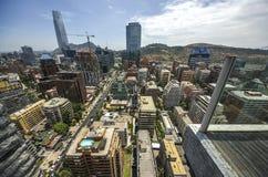Центр города Сантьяго - Чили Стоковая Фотография