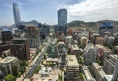 Центр города Сантьяго - Чили Стоковые Изображения