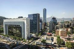 Центр города Сантьяго - Чили Стоковые Фото